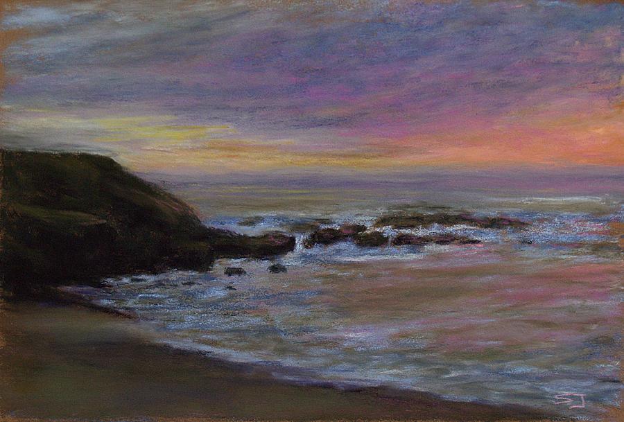 Landscape Pastel - Romantic Shore by Susan Jenkins