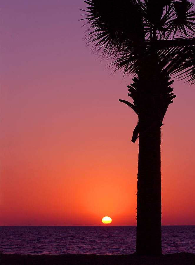 Sunsets Photograph - Romantic Sunset by Susanne Van Hulst