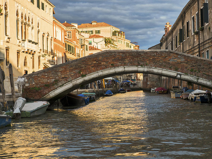 Venice Photograph - Romantic Venice by David Kay