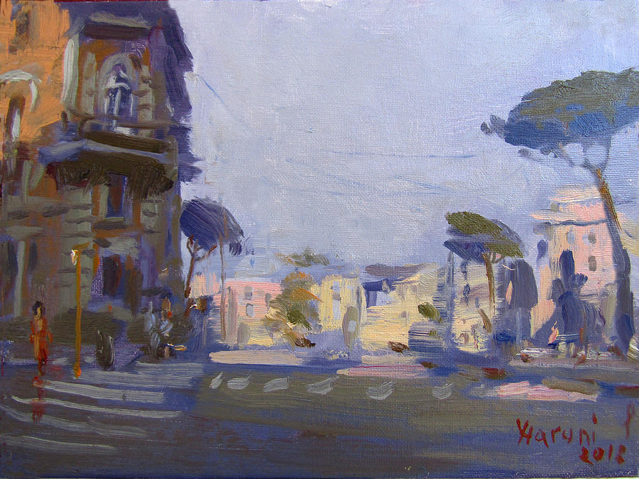 Rome Painting - Rome 2018 by Ylli Haruni