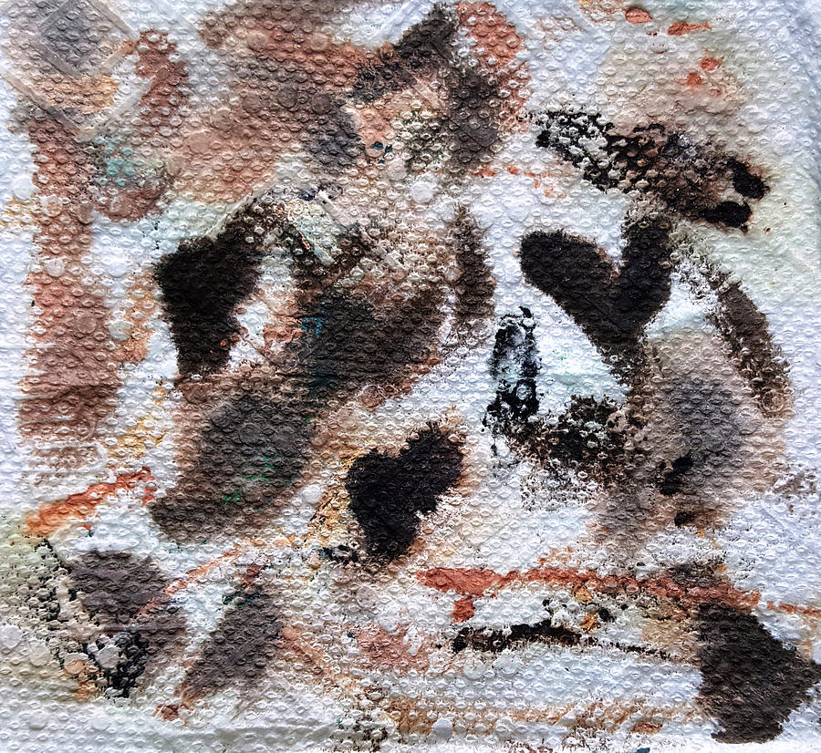 Abstract Painting - Rome by Dave Martsolf