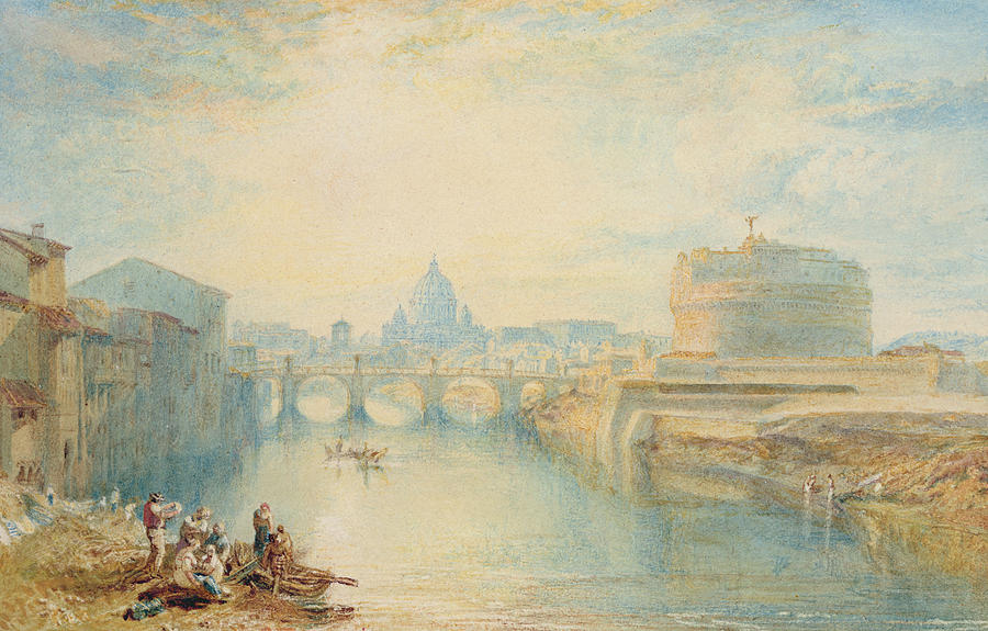 Rome Painting - Rome by Joseph Mallord William Turner