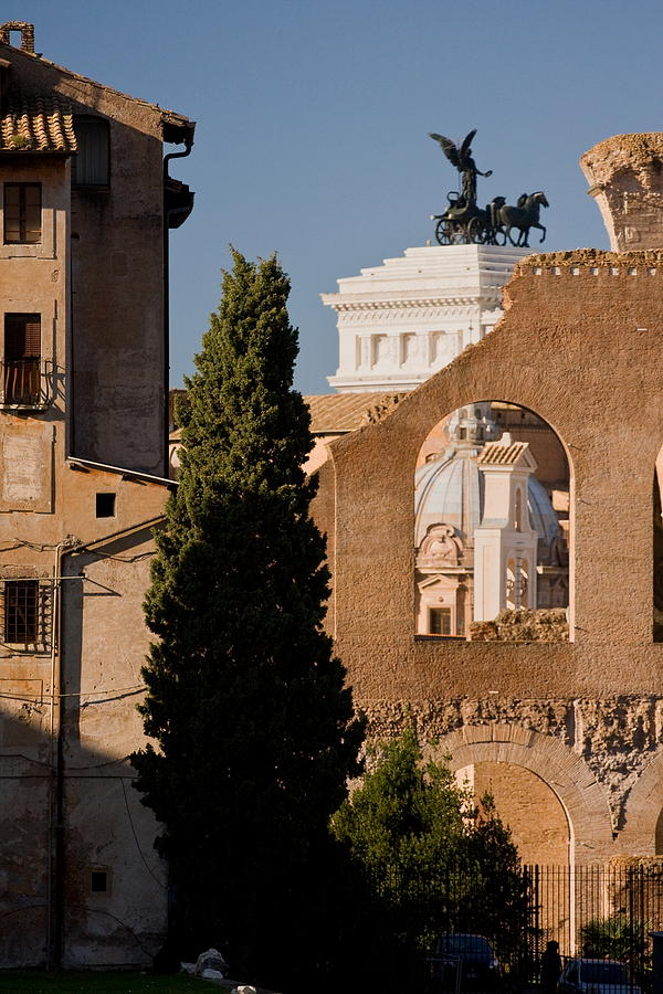 Rome Photograph - Rome Layers 1 by Art Ferrier