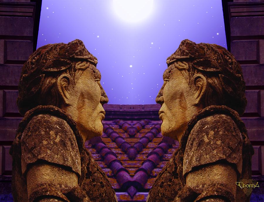 Fantasy Digital Art - Romulus And Remus by Greg Piszko