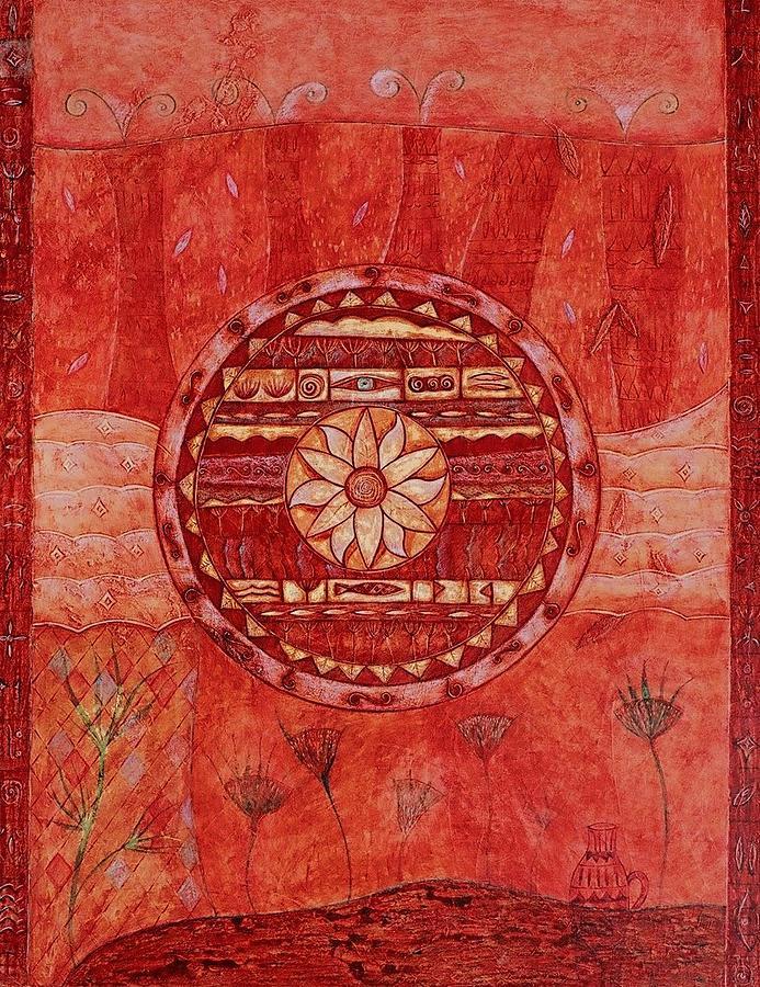 Symbolic Painting - Rondo by Kasia Blekiewicz