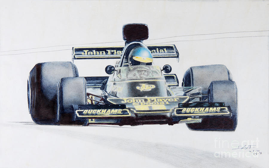 Ronnie Peterson - Lotus 76 by Lorenzo Benetton