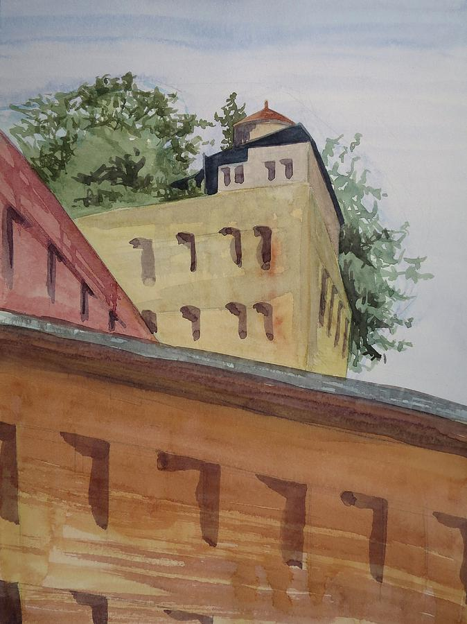 Roof Gardens Painting by Bethany Lee