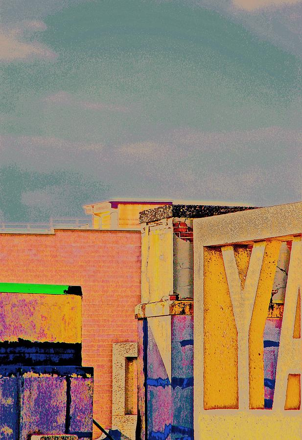 City Photograph - Rooftop by Gillis Cone