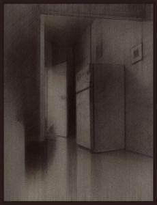 Drawing - Room by Eran Raitzes
