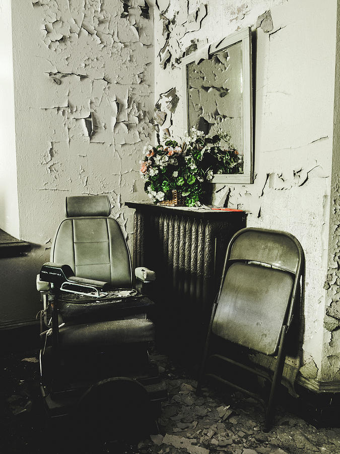 Abandoned Photograph - Room In Abandoned Church by Dylan Murphy