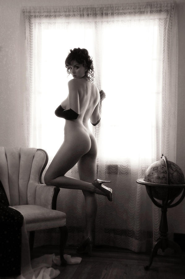 Nude Photograph - Room With A View by Curt Johnson