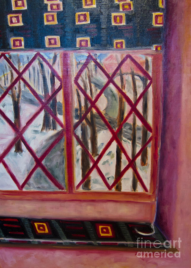 K. Francis Painting - Room With A View by Karen Francis