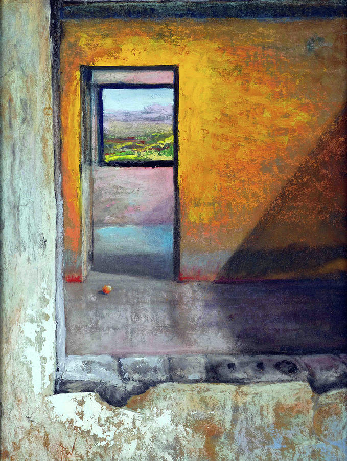 Pastel Pastel - Room With A View by Philip Lodwick Wilkinson