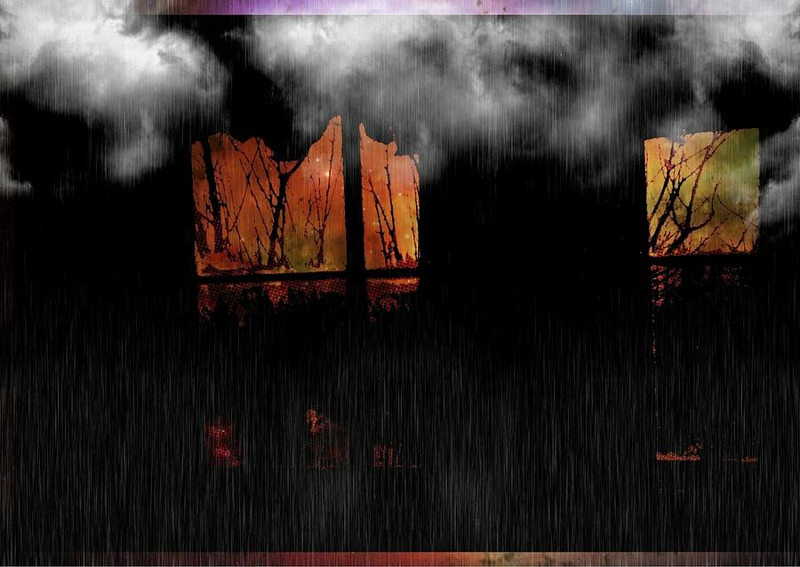 Pop Culture Digital Art - Room With Clouds by Robert Grubbs