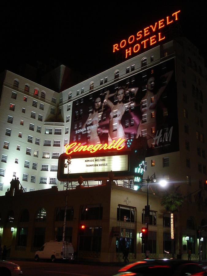Roosevelt Hotel by Kenny Glover