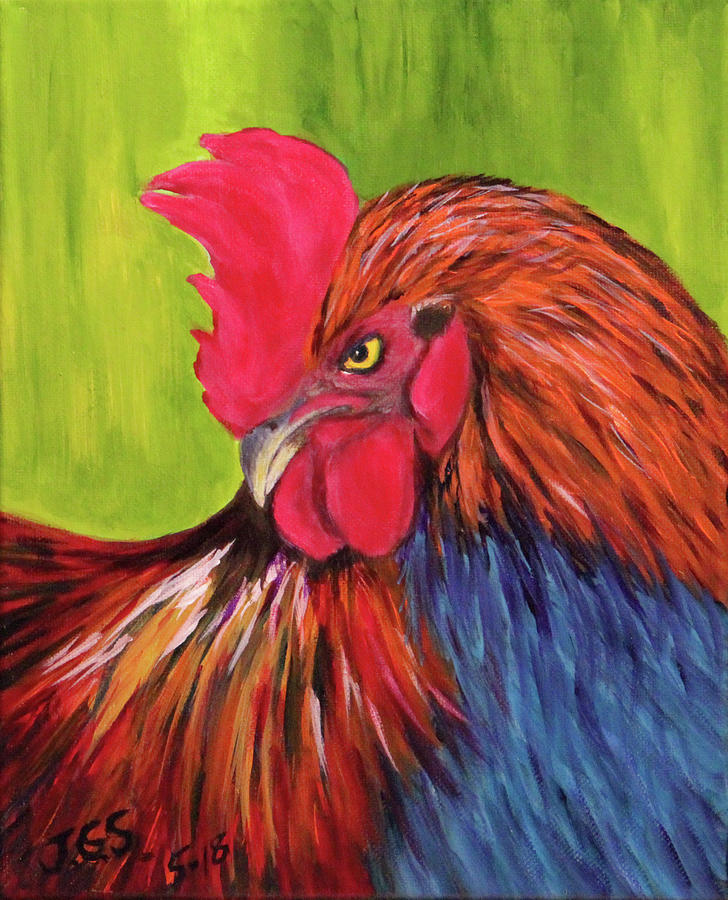 Rooster by Janet Greer Sammons