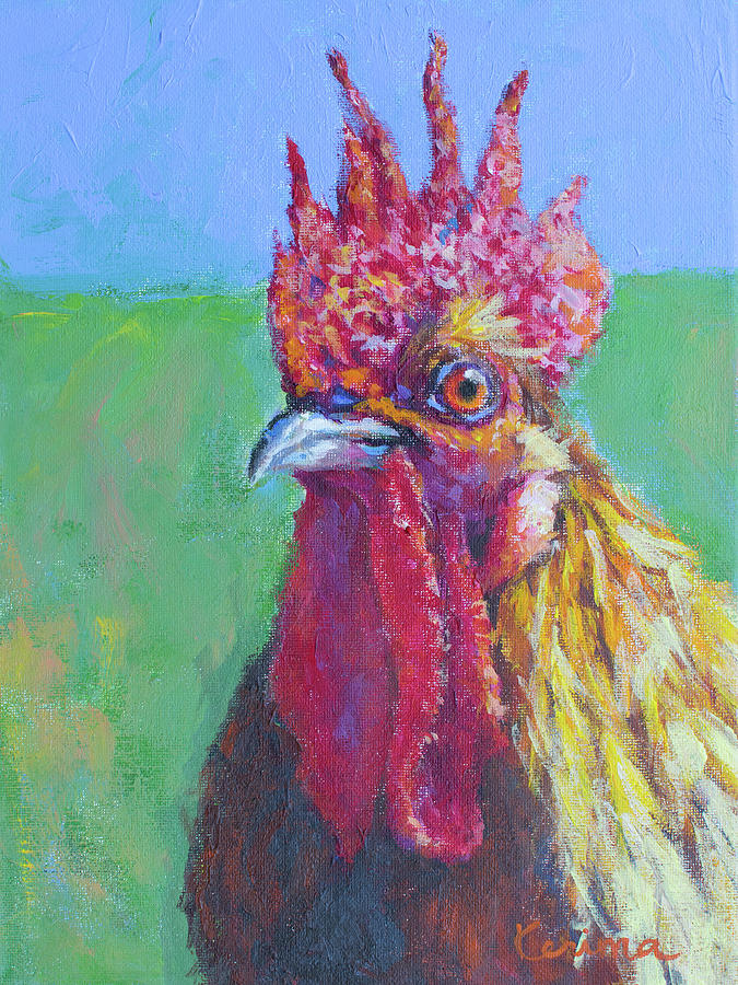 Rooster No. 1 by Kerima Swain