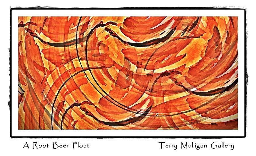 Root Digital Art - Root Beer Float by Terry Mulligan