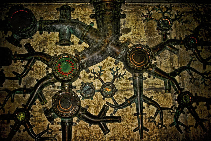 Steampunk Photograph - Roots by Heather Applegate