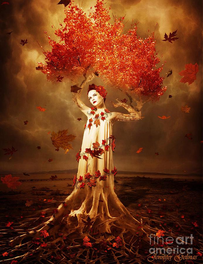 Tree Digital Art - Roots by Jennifer Gelinas