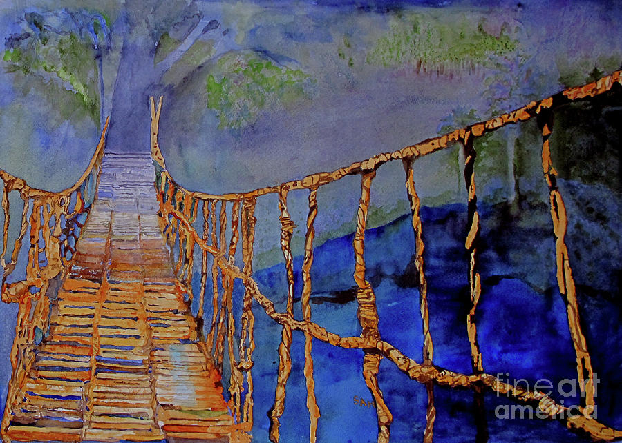 Rope Bridge by Sandy McIntire