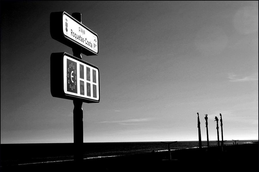 Photographer Photograph - Roquettas 34 by Jez C Self