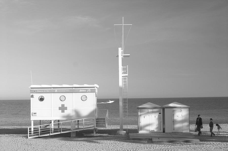 Photographer Photograph - Roquettas 43 by Jez C Self