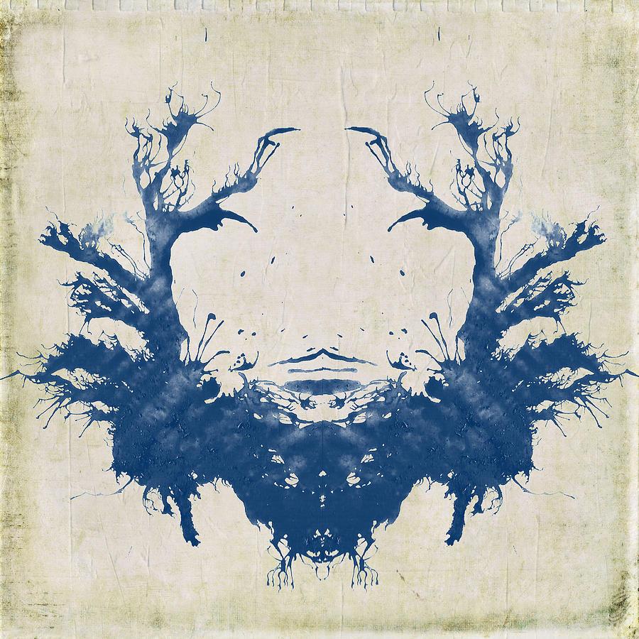 Rorschach Digital Art - Rorschach II by Brandi Fitzgerald