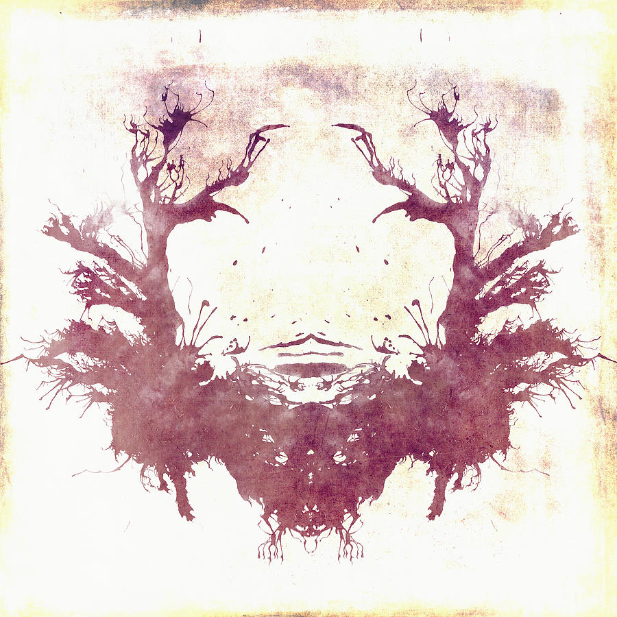 Brandi Fitzgerald Digital Art - Rorschach Vi by Brandi Fitzgerald