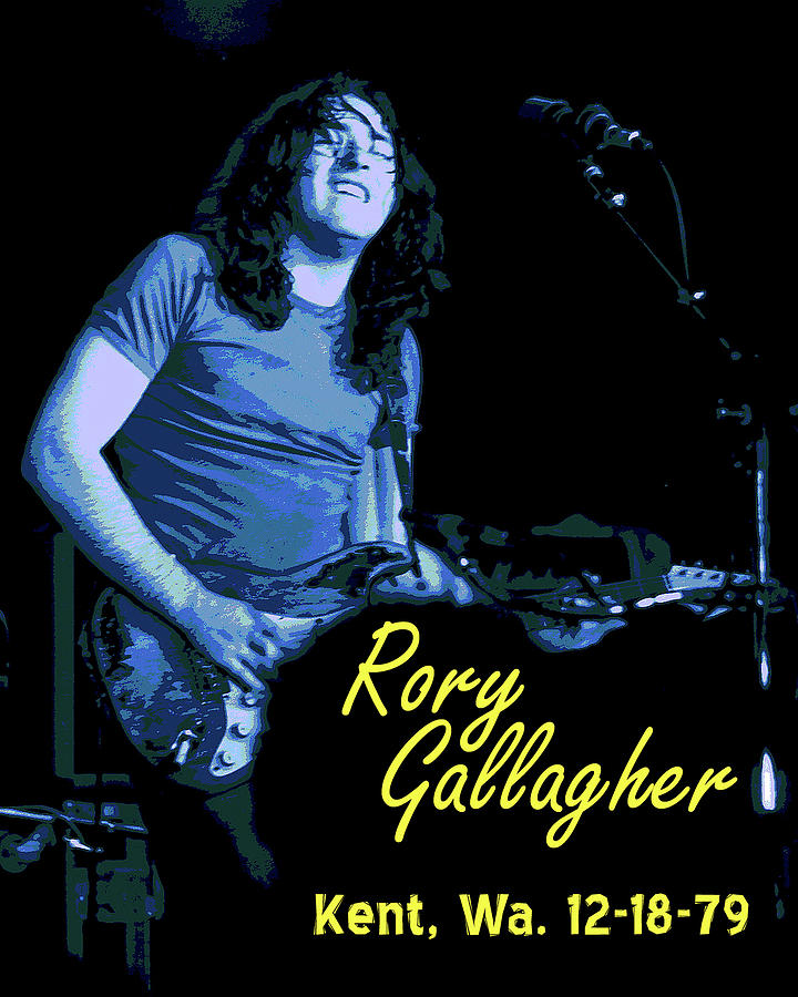 Rory Gallagher Photograph - Rory In Kent by Ben Upham