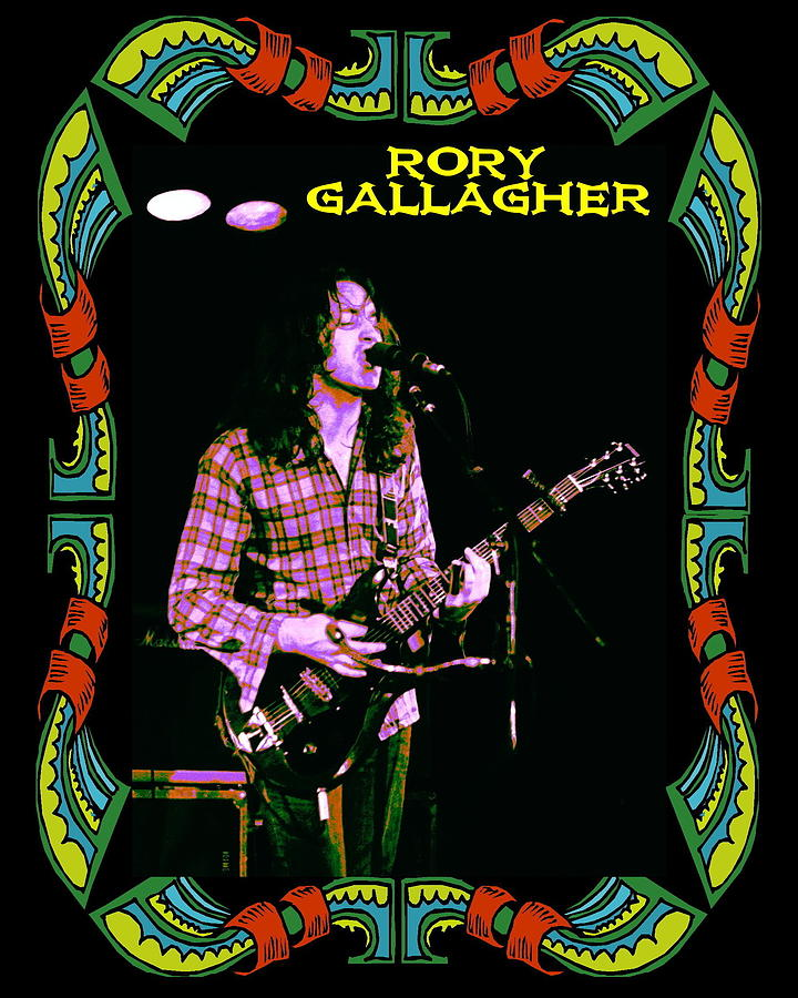 Rory Gallagher Photograph - Rory Messin With The Kid 2 by Ben Upham