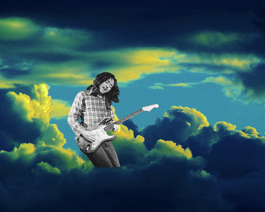 Rory Gallagher Photograph - Rory Morning Sun by Ben Upham