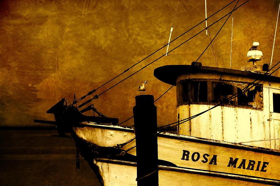 Ship Photograph - Rosa Marie by Susanne Van Hulst