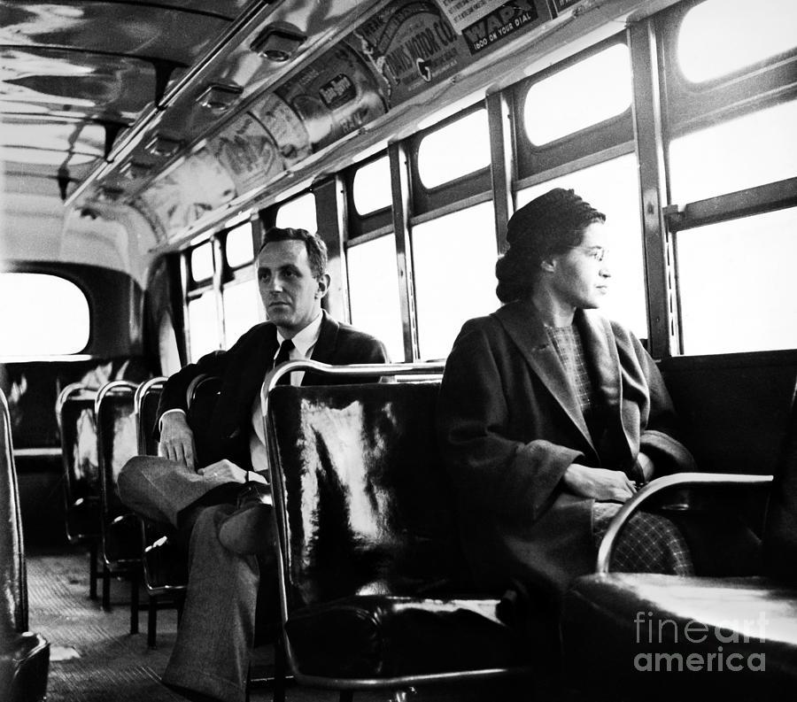 1956 Photograph - Rosa Parks (1913-2005) by Granger
