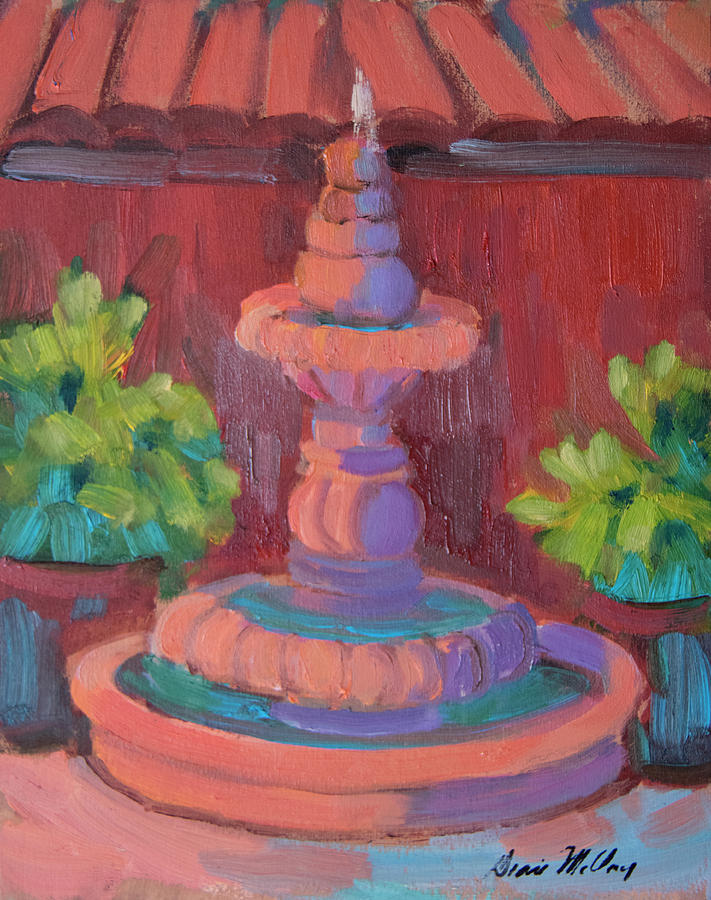 Rosarito Fountain by Diane McClary