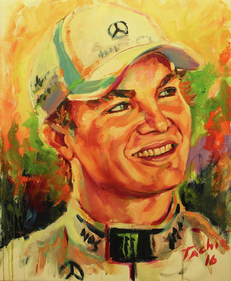 Rosberg by Tachi Pintor