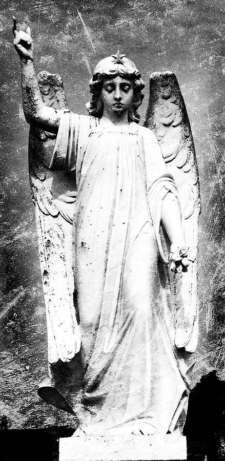 Roscommon Photograph - Roscommon Angel No 2 by Teresa Mucha
