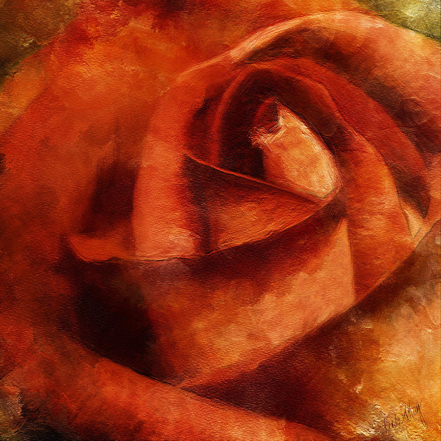 Rose 4854 Painting