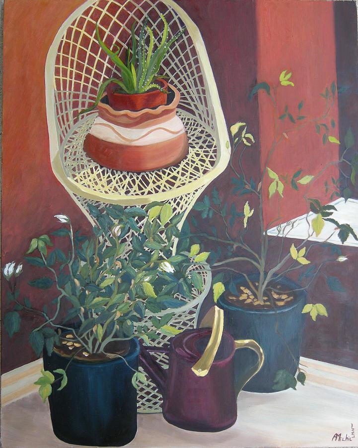 Still Life Painting - Rose Buds by Antoaneta Melnikova- Hillman