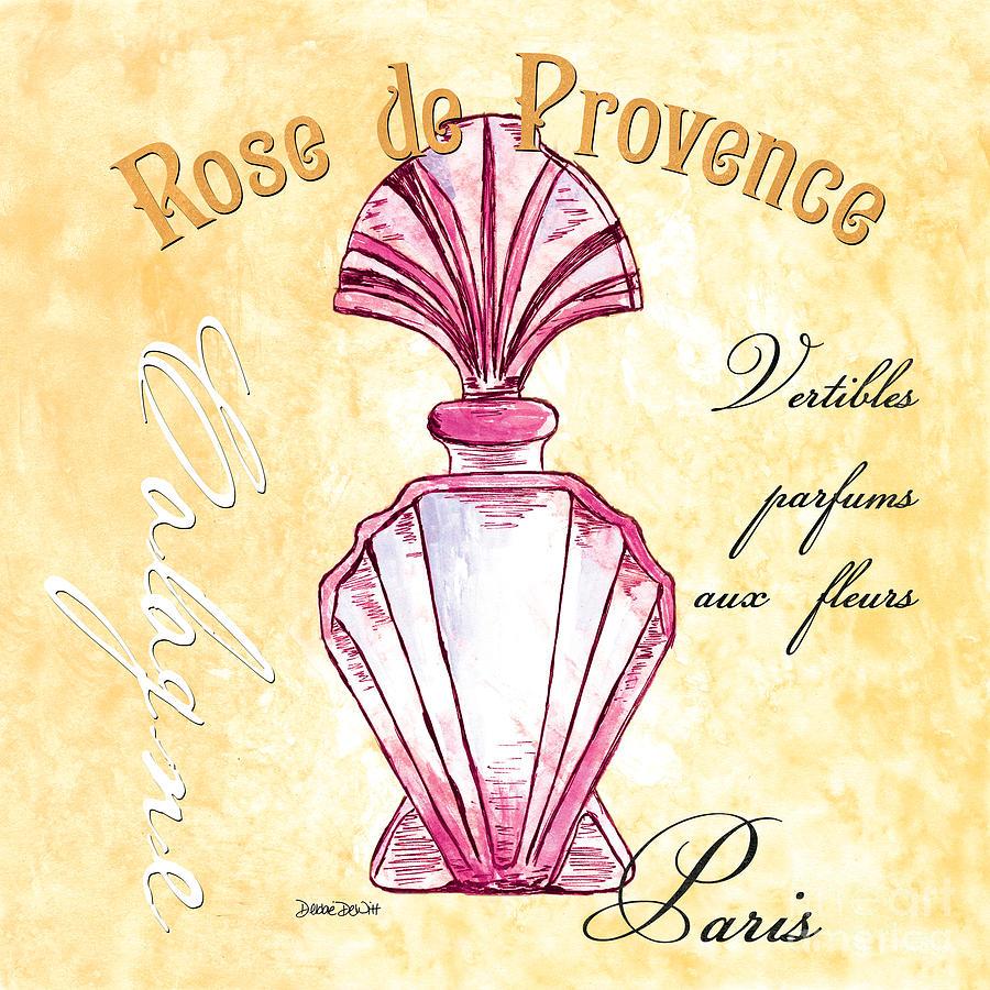 Perfume Painting - Rose De Provence by Debbie DeWitt