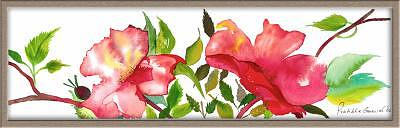 Roses Painting - Rose Freshness by Pratibha Garewal