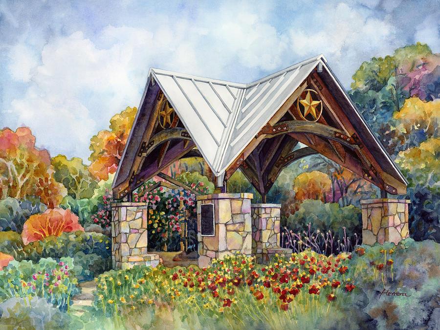 Rose Garden Painting