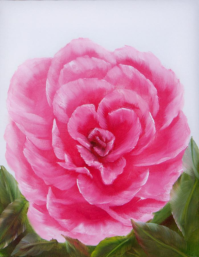 Oil Painting - Rose by Joni McPherson