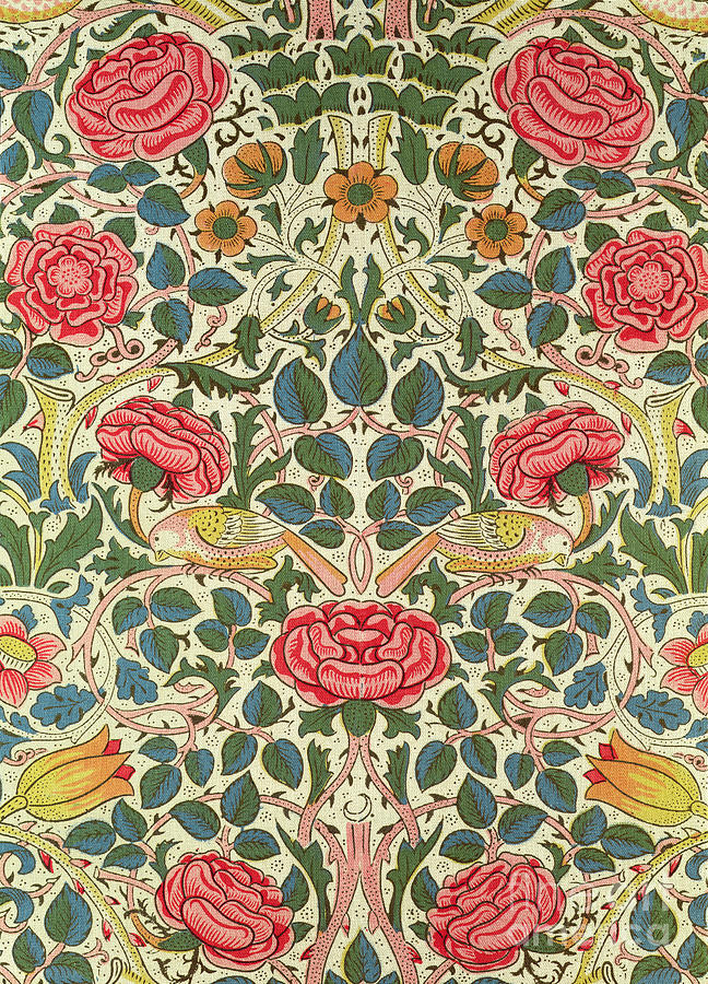Rose Painting by William Morris