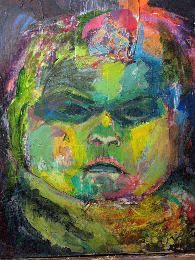 Baby Mixed Media - Rosemarys Baby by Connie Freid