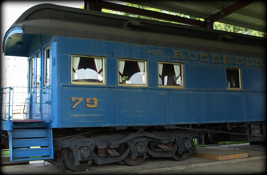 Train Photograph - Rosenberg Train by Dennis Stein