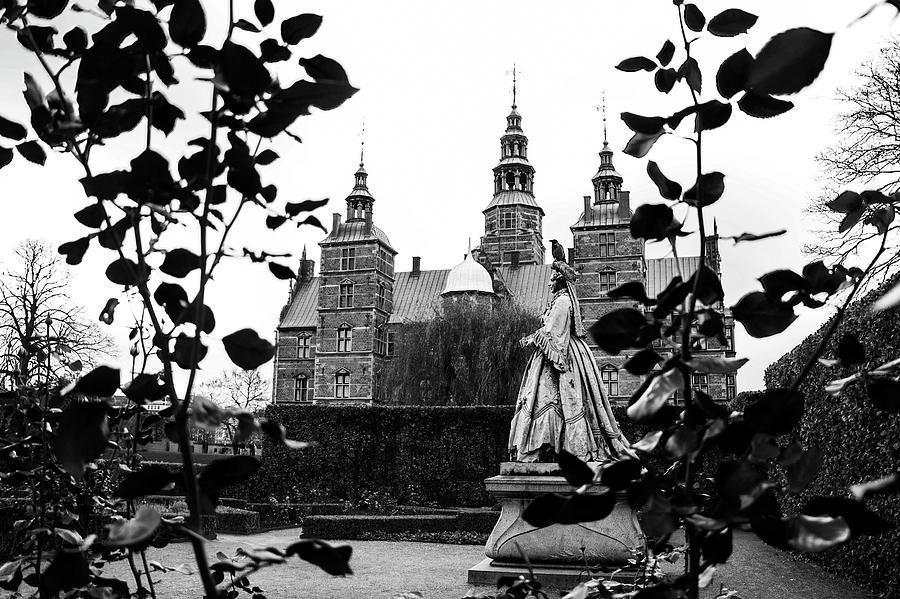 Rosenborg Photograph - Rosenborgs Rose Garden by Alexandra-Emily Kokova