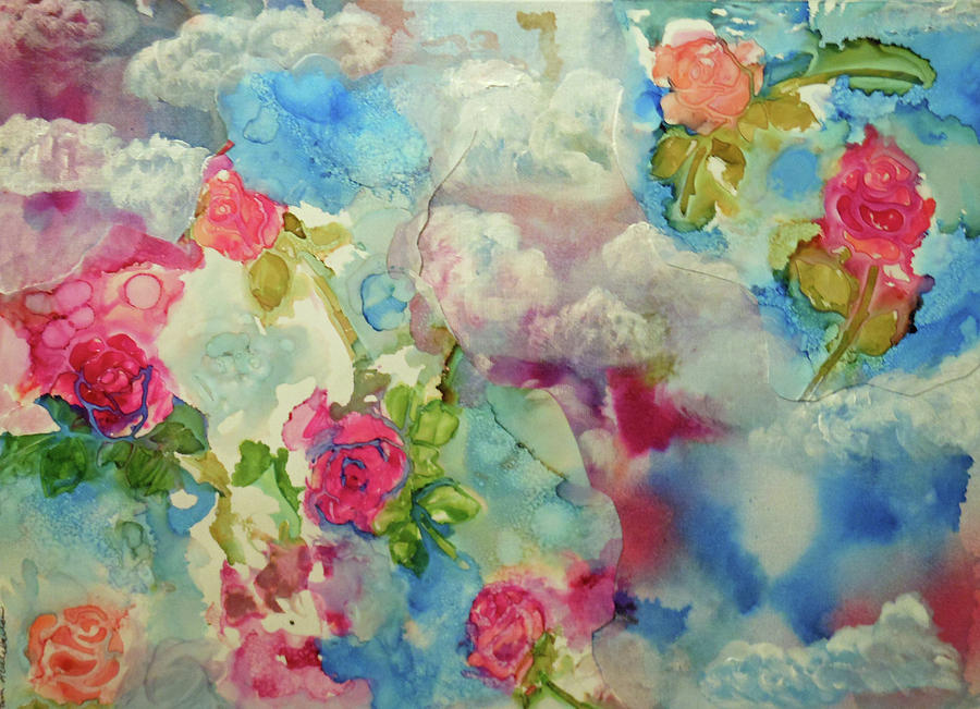 Roses Among the Clouds by Pam Halliburton