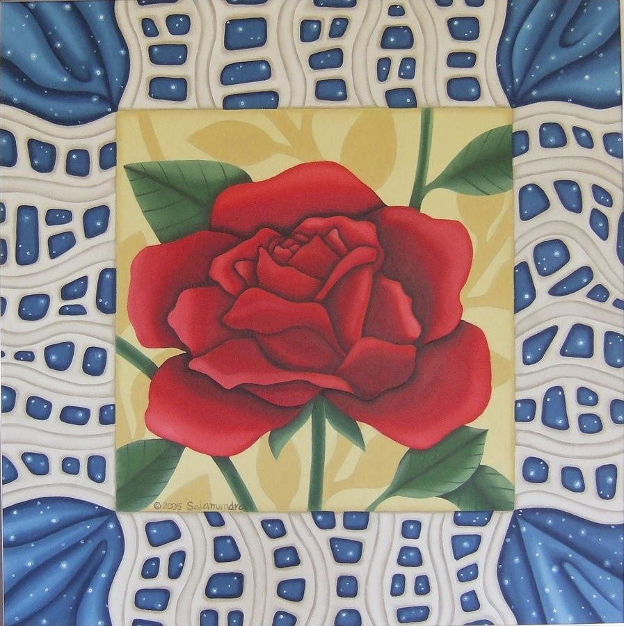 Rose Painting - Roses Are Red by Arlene Salamendra