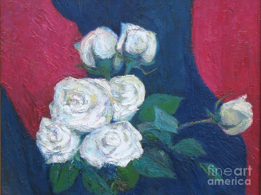 Roses Painting - Roses II by Meihua Lu
